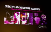 Creative Architecture Machines Colloquium at the California College of the Arts