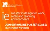 """Join the Online Master Class """"The Versatile Workplace"""", hosted by Primo Orpilla and Verda Alexander (Studio O+A)"""