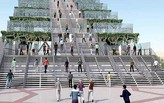 Renderings of the Dubai Steps revealed