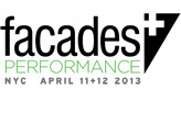 facades+Performance Conference in New York 4/11+12
