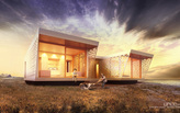 Unboxed - 100% recycable prefab wooden house‏