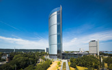 JAHN'S Post Tower wins the CTBUH 10 Year Award