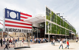 The now-open Milan Expo U.S. pavilion salutes to the future of food, the American way