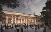 First glimpse of Foster + Partners and Rubio Arquitectura's Museo del Prado expansion scheme
