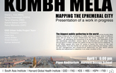 Live Blog - Rahul Mehrotra, KUMBH MELA: Mapping the Ephemeral City