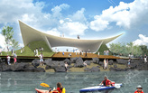 """Echoing Plateau"" by Toshiki Hirano - Semi-Finalist Entry for Waterfront Gateway Design Competition"