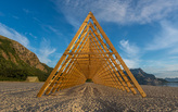 SALT festival celebrates arctic architecture in Sandhornøy, Norway