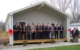Ribbon Cutting Marks Completion of First HBEER Home