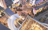 Tokyo visitors will soon be able to watch Shibuya's busy crossing from high above