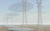 """SEEDING MICRO-CLOUDS. Power Transmission Lines & WaterTransmission Surfaces,"" an honorable mention in Dry Futures Pragmatic category"