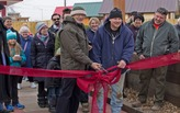 Tiny house village built with and for the homeless opens in Wisconsin