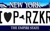 In New York, you can get a vanity license plate made special for architects