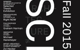 Get Lectured: SCI-Arc, Fall '15