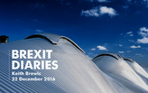 Brexit Diaries: Keith Brewis of Grimshaw, 22 December 2016