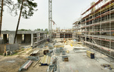 Wiel Arets Architects progress construction on the Truman Plaza in Berlin