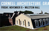 Cornell's Architecture Graduate Studies Open House 2013
