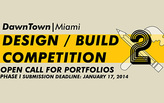 DawnTown Design / Build 2 – Call for Portfolios