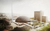 Prishtina Central Mosque Entry by OODA + AND-R