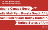 2015 RIBA Norman Foster Travelling Scholarship