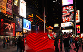 Stereotank's HEARTBEAT wins 2015 Times Square Valentine Heart Design