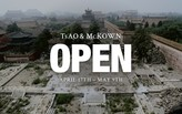OPEN - an exhibition by Tsao & McKown Architects