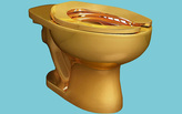 The Guggenheim will install a fully functioning solid gold toilet