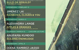 Get Lectured: Boston Architectural College, Spring '15