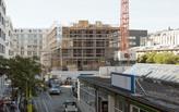 WAA progress construction on the Blumenhaus in Zürich