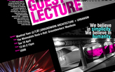 元新 GROUNDWORK | Architecture + Urbanism lecture-Polytechnic University Community College