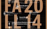 Get Lectured: PennDesign, Fall '14