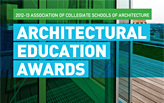 2012-13 ACSA Architectural Education Awards