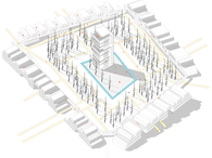 Typologies into towers and linear buildings