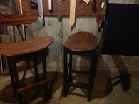 Rosewood Stools