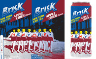 Brisk Apple Cider Iced Tea Design