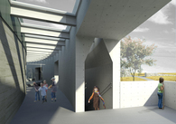 Entrance and revealing of architecture, Kindergarten in Alexandria,Meeting room