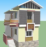 Residential house belongs to Mr. Ganesh Ghodke at Ingle layout