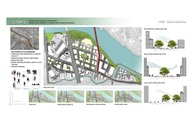 School Project: Urban Design for the Austin South Central Waterfront.