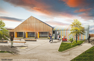 Community & Activity Center - L - Project Manager at Gautier Guilloux architects, France, 2011