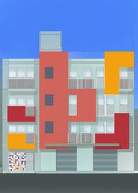 Residential Building Social Cubotetris