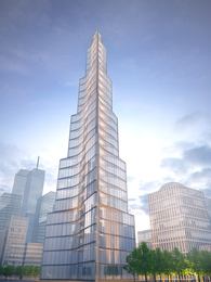 World Trade Center proposal for NYC