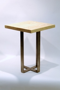 Furniture: Metal Side Table