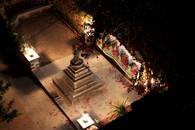 Landscaping for Buddhist Chaitya