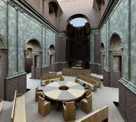 Ecumenical meeting space
