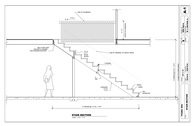 Stair Section/ Computer Aided Design