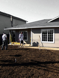 Habitat for Humanity single-family houses