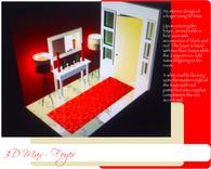 Foyer (red, black, white)