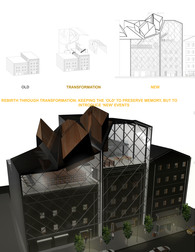 Proposal for the future urban re-design solution