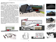 ARCHITECTURAL STUDIO 7-8: DANCE CENTER