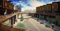 The Promenade - Redevelopment of Francisville's Art's District