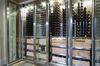 The 'Minto' Stainless Steel Wine Fridge